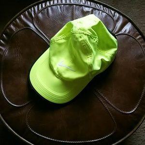 Neon Nike Featherlight Cap
